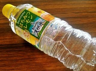 南アルプスの天然水 はちみつレモン